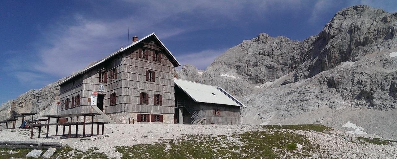 Dom Planika, Triglav 2864m.npm, Słowenia